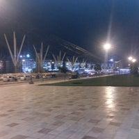 Photo taken at Kempegowda International Airport (BLR) by Bindu P. on 11/2/2012