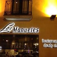 Foto tomada en Restaurante Los Manueles por ㅂㅇ ㅊ. el 7/18/2013