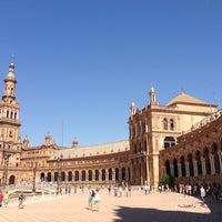 Foto tomada en Plaza de España por ㅂㅇ ㅊ. el 7/24/2013