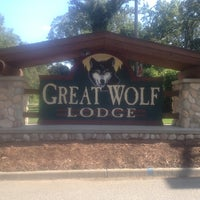 Photo taken at Great Wolf Lodge by Tammy on 9/23/2012