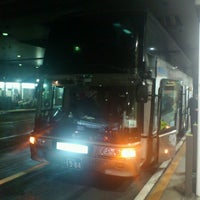 Photo taken at Nishitetsu Tenjin Expressway Bus Terminal by sakuraba k. on 1/2/2013
