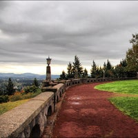 Photo taken at Rocky Butte Park by Mohamad Ali B. on 10/17/2012