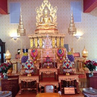 Photo taken at Wat Mongkolratanaram Buddhist Temple by Nuttasarunphut S. on 11/4/2012