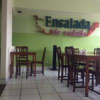 Photo taken at Ensalada de Volada by Maria V. on 7/10/2013