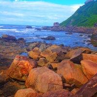 Photo taken at Praia do Sonho by Barbara C. on 3/30/2013