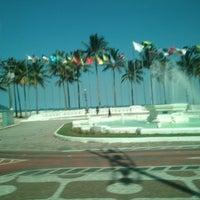 Photo taken at Praça das Bandeiras by Alexandre M. on 8/12/2013