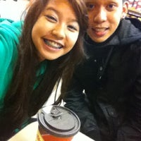 Photo taken at Tim Hortons by Dey G. on 10/21/2012