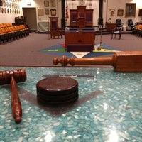 Photo taken at Suburban Masonic Lodge #740 F&AM by David Y. on 3/6/2013