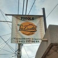 "Photo taken at Pozole ""La Casita Guerrerense"" by Kat G. on 3/23/2014"