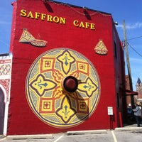 Photo taken at Saffron Cafe by Heather R. on 4/21/2013