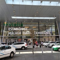 Photo prise au Estación de Málaga-María Zambrano par mash le6/6/2013