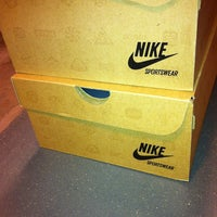 Photo taken at Nike Factory Store by Olga F. on 4/13/2013