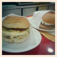 Photo taken at Senhor Hamburguer by Pamela M. on 10/5/2012