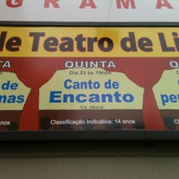 Photo taken at Teatro Municipal de Limeira by Miguel B. on 5/23/2013