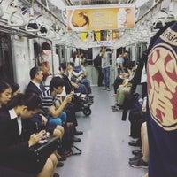 Photo taken at Namboku Line Meguro Station (N01) by Elaine W. on 6/3/2016