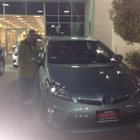 Photo taken at Frontier Toyota by Lauren M. on 11/10/2013