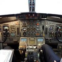 Photo taken at Hangar 75 AIROD by Fernando A. on 8/27/2013