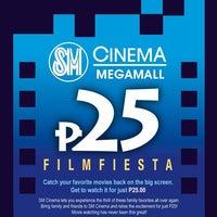 Photo taken at SM Cinema Megamall by MK on 10/1/2012