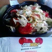 Photo taken at Subway by Tibério J. on 12/10/2012