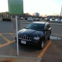 Photo taken at Zipcar North Quincy T Station by Benson on 4/16/2014