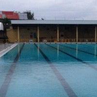 Photo taken at Abellana Swimming Pool by Melvin D. on 2/2/2015