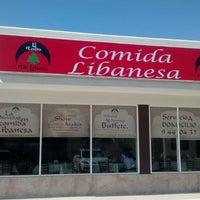 Photo taken at El cedro, Restaurante de Comida Libanesa by Nine V. on 4/10/2014