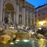 Photo taken at Trevi Fountain by Paulo M. on 6/8/2013