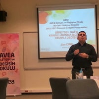 Foto tirada no(a) Sabanci Universitesi Yonetim Bilimleri Fakultesi por Ahmet U. em 12/4/2012