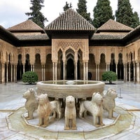 Photo taken at La Alhambra y el Generalife by Bryant B. on 3/22/2013