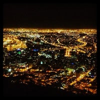 Photo taken at signal hill,cape town by gizli s. on 3/21/2013