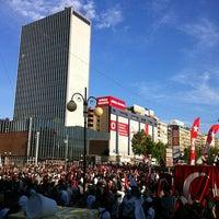 Photo taken at Kızılay by Sevil Ç. on 6/9/2013