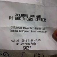 Photo taken at Nokia Care Metropolitan Mall by Anggia S. on 3/25/2013