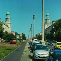 Das Foto wurde bei Frankfurter Tor von Chris C. am 7/8/2013 aufgenommen