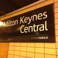 Photo taken at Milton Keynes Central Railway Station (MKC) by Marat A. on 3/13/2013