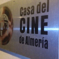 Photo taken at Casa del Cine de Almería by Miguel M. on 10/9/2012