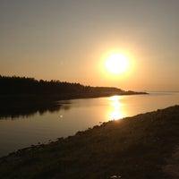 Photo taken at Набережная Финского залива by Аленка П. on 6/4/2013