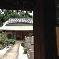 Photo taken at 稱念寺 by Kaori S. on 8/13/2014