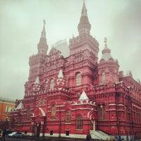 Das Foto wurde bei Roter Platz von Ольга П. am 10/28/2013 aufgenommen
