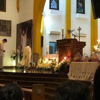 Photo taken at Gereja Katolik Kristus Raja by Tommy I. on 4/16/2017