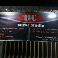 Photo taken at BC Music Studio by Yoga S. on 9/19/2012