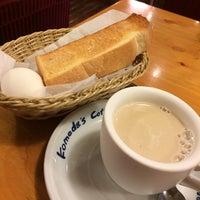 Photo taken at Komeda's Coffee by daidai k. on 3/9/2014