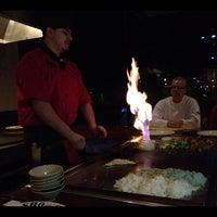 Photo taken at Shogun Japanese Steakhouse by Yuki I. on 10/29/2012