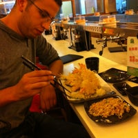 Photo taken at HI Sushi Wangfujin by Abdelali   O. on 10/15/2012