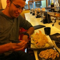 Photo taken at HI Sushi Wangfujin by Abdelali   O. on 10/14/2012