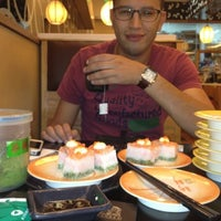 Photo taken at HI Sushi Wangfujin by Abdelali   O. on 5/25/2013