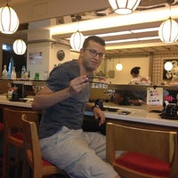 Photo taken at HI Sushi Wangfujin by Abdelali   O. on 5/31/2013