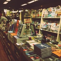 Photo taken at Trident Booksellers & Cafe by Jungah P. on 10/4/2012