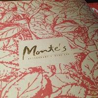 Photo taken at Monte's Restaurant Bar & Grill by Bryan H. on 1/2/2013