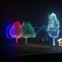 Photo taken at Our Dancing Lights by Patrick R. on 12/8/2012