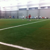 Photo taken at Ultimate Soccer Arena by Patrick R. on 1/8/2013